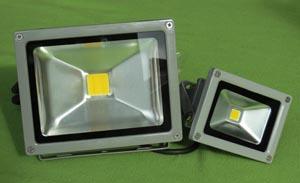 Focos LED para exterior